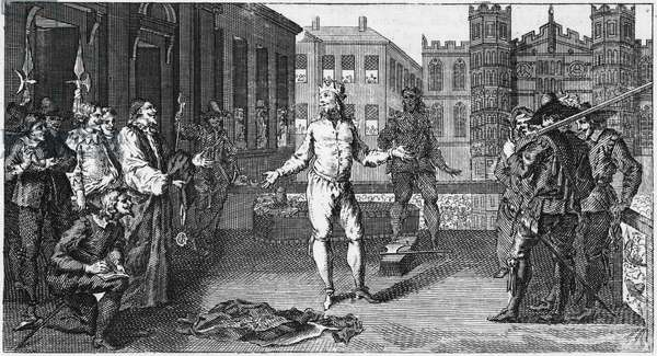 The Execution of King Charles I (engraving)
