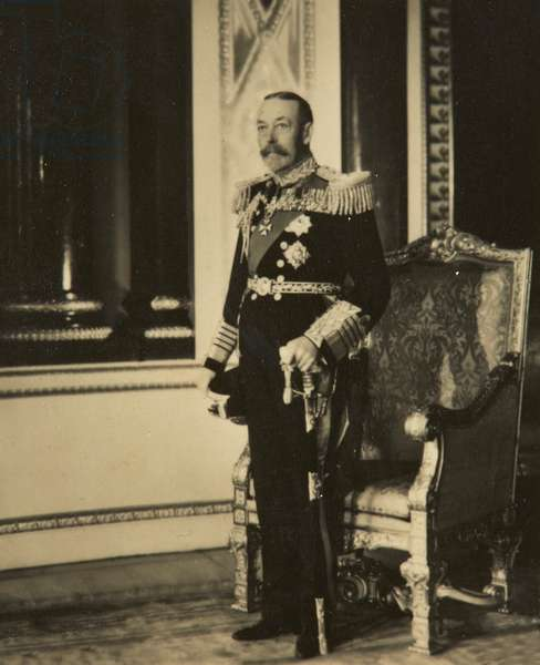 King George V, Silver Jubilee Portrait, 1935