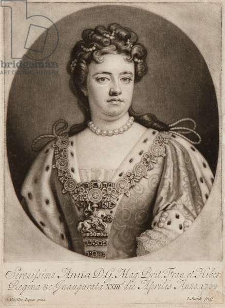 Queen Anne (mezzotint)