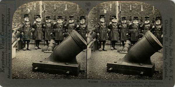 Yeoman Warders, published by Keystone View Company
