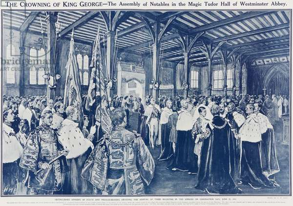 Coronation day, 22 June 1911