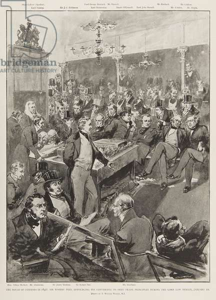 The House of Commons in 1846