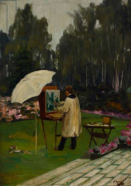 Winston Churchill by John Lavery, 1915