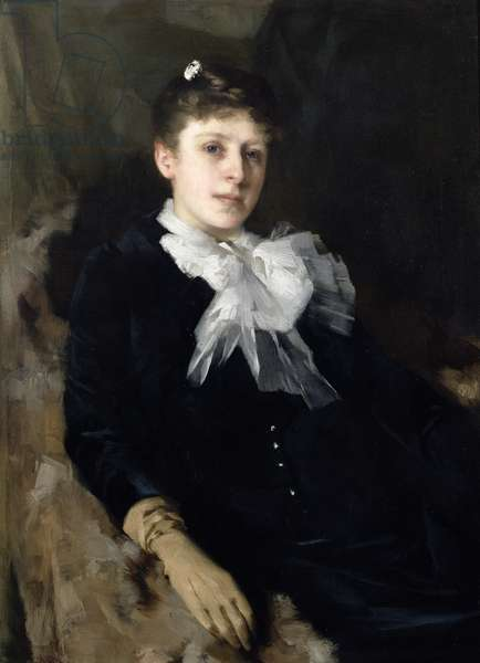 Portrait of the artist's wife, 1889