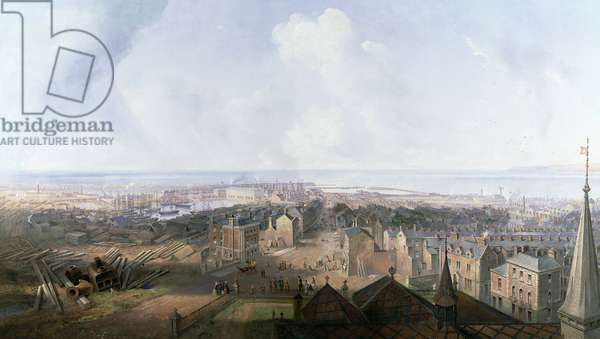 West Hartlepool in the year 1859