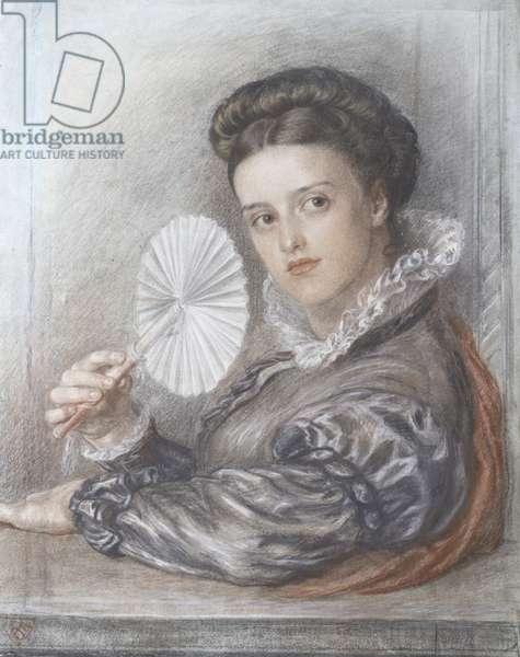 Head of a Lady (chalk)