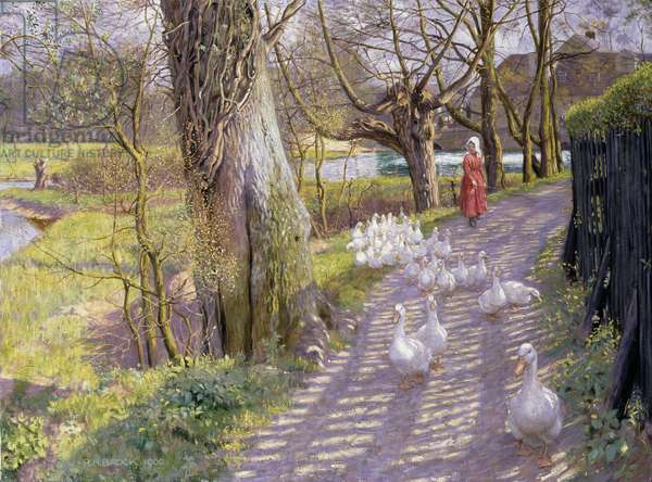 The Path by the Mill Pond, 1900