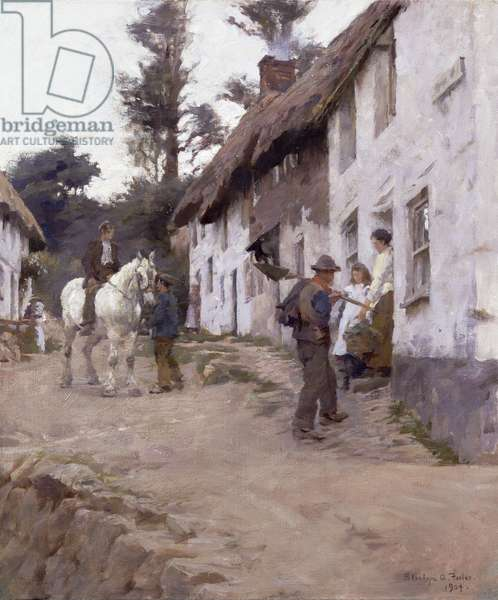 Evening - Workers Return, 1904