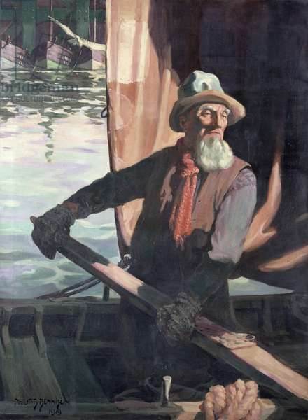 Fisherman, 1919