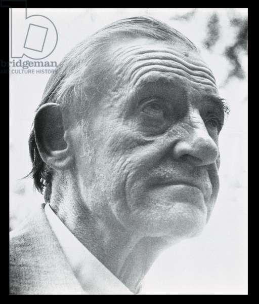 Maurice Utrillo (1883-1955) (b/w photo)