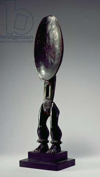 Spoon, Dan Culture, from Liberia or Ivory Coast (wood)