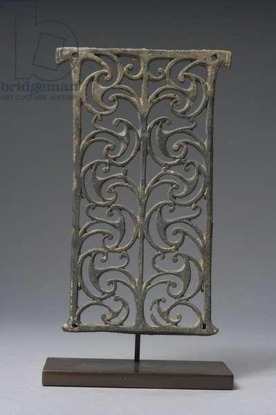 Romano-Celtic openwork plaque (bronze)