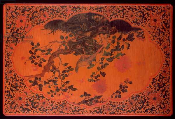 Table Top, Kangxi period (1662-1722) (lacquered wood & hemp cloth) (see also 272135)