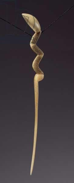 Zulu Snuff Spoon or Hair Ornament (bone)