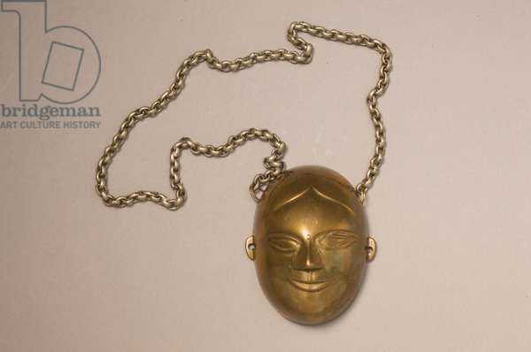 Brass necklace, Naga