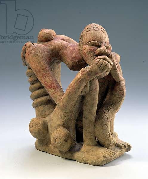 Figure, Djenne, Mali (terracotta)