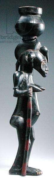 Senufo Female Figure, Ivory Coast (wood) (see also 186307)