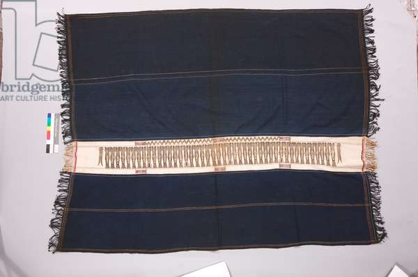 Body cloth with painted band, Western Regma