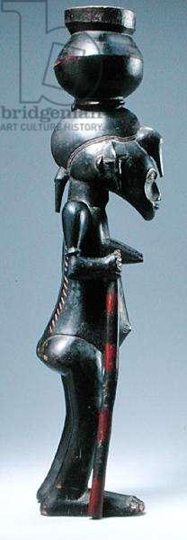 Senufo Female Figure, Ivory Coast (wood) (see also 186306)