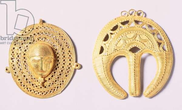 Baule Ornaments, Ivory Coast (gold)