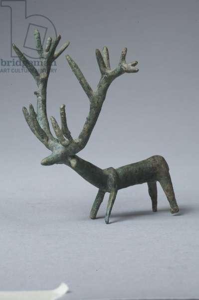 Anatolian stag (bronze)
