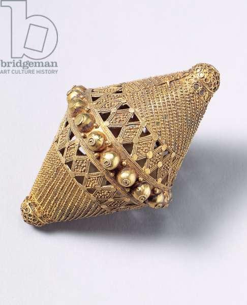 Beaded Decoration (gold)