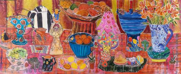 My Favourite Things, 2005 (dyes on silk)