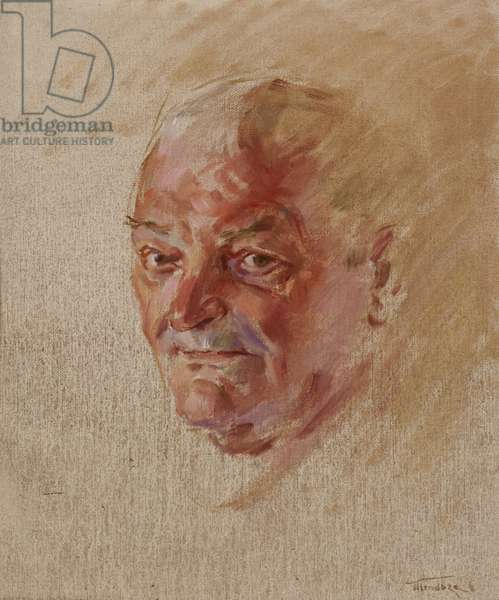 Chelsea Pensioners: Ray Whipp, Royal Signals, 2000-11 (oil on canvas)