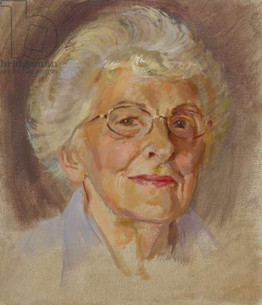 Chelsea Pensioners: Dorothy Hughes, Auxiliary Territorial Service, 2000-11 (oil on canvas)