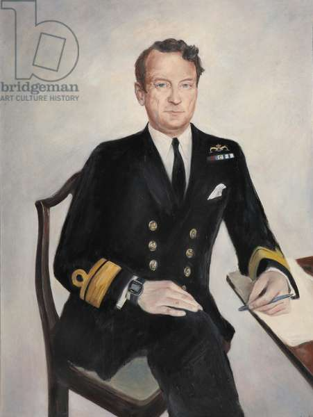 Admiral writing, 1999 (oil on canvas)