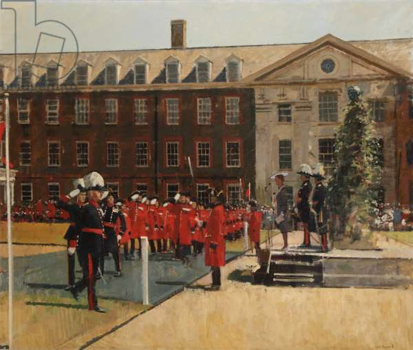 Founder's Day, 1987 (oil on canvas)