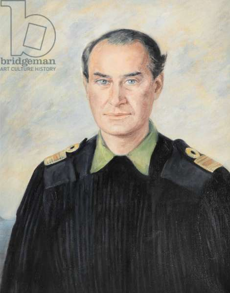 Admiral in pullover, 1999 (oil on canvas)