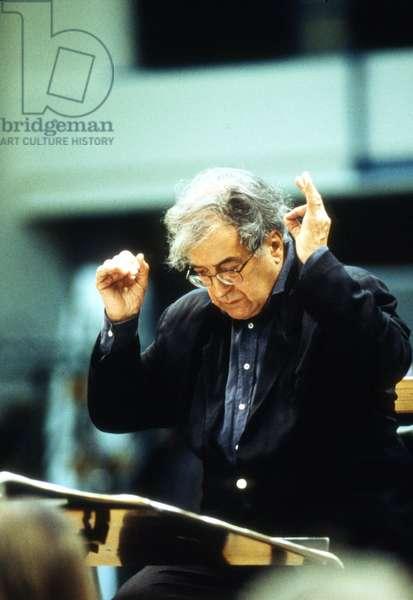 BERIO Luciano - conducting