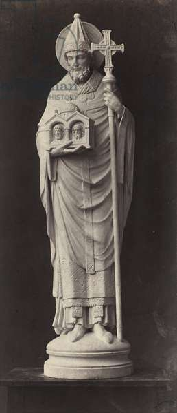 Statue from the Louvre (albumen silver print)