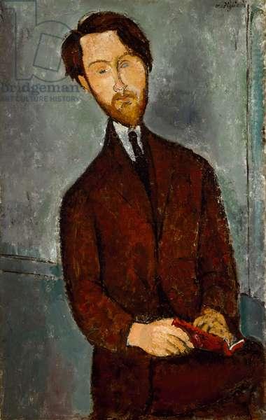 Leopold Zborowski, c.1916 (oil on canvas)
