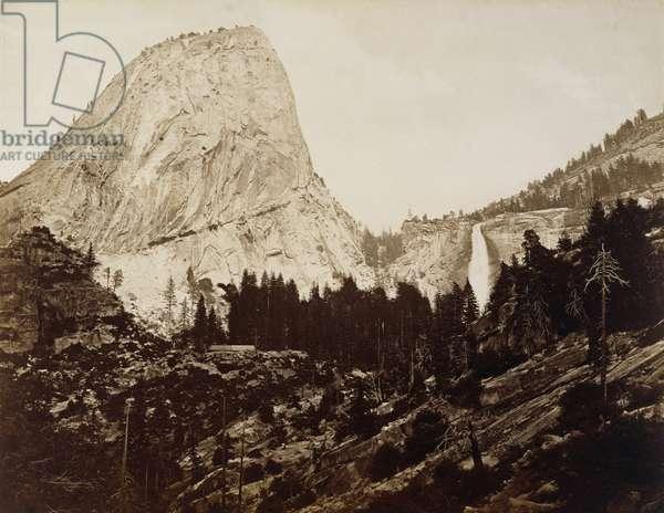 Cap of the Liberty, Valley of Yosemite, 1872 (albumen silver print)