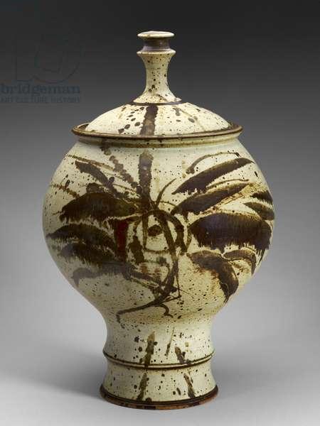 Early Lidded Vessel, c.1972 (stoneware)
