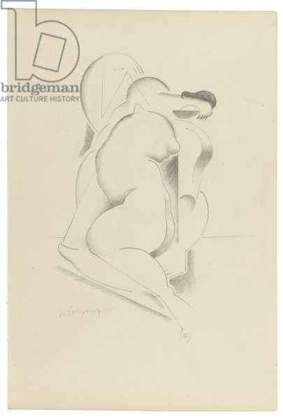 Untitled XVII, c. 1921-1923 (graphite on paper)