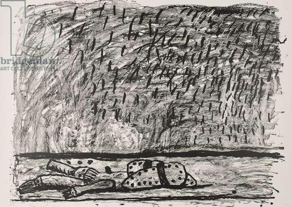 View, 1980 (litho)