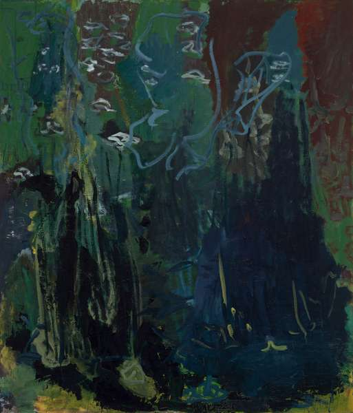 Inferno II, 1992 (oil on canvas)