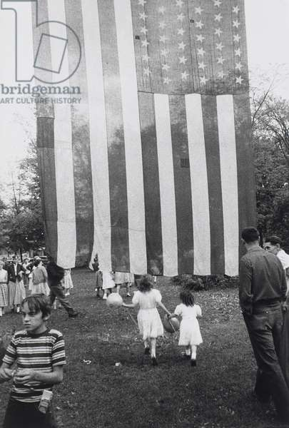 Fourth of July, Jay, New York, 1955 (gelatin silver print)