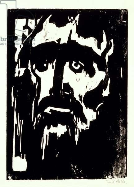 Prophet, 1912 (woodcut)
