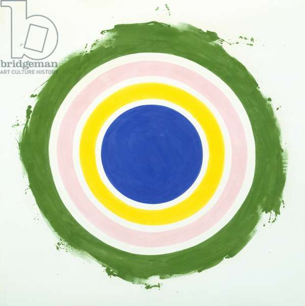 Half, 1959 (acrylic on canvas)