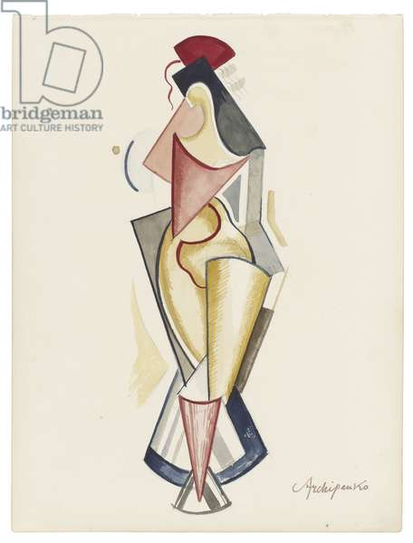 Women IV, c. 1921-1923 (watercolour and graphite on paper)