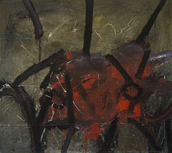 Klee Gone Mad, Almost Berserk, 1963 (oil on canvas)