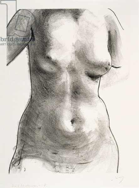 Torso of a Woman, 1927 (litho)