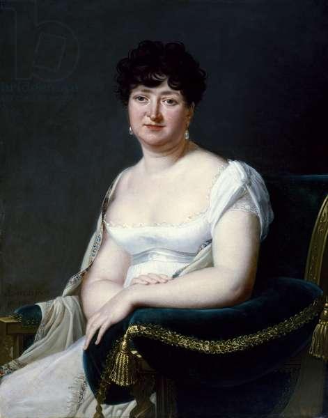 Portrait of a Woman, 1807 (oil on canvas)