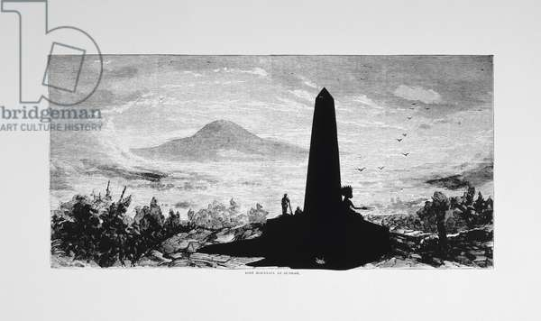 Harper's Pictorial History of the Civil War (Annotated):  Lost Mountain at Sunrise, 2005 (lithograph and screenprint)