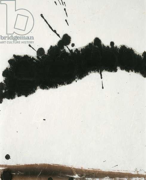 Lyric Suite, 1965 (black ink on rice paper)
