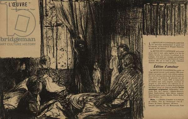 Theatre de l'Oeuvre: Les Soutiens de la societe, 1895 (litho)